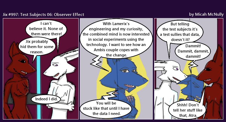 997. Test Subject 06: Observer Effect