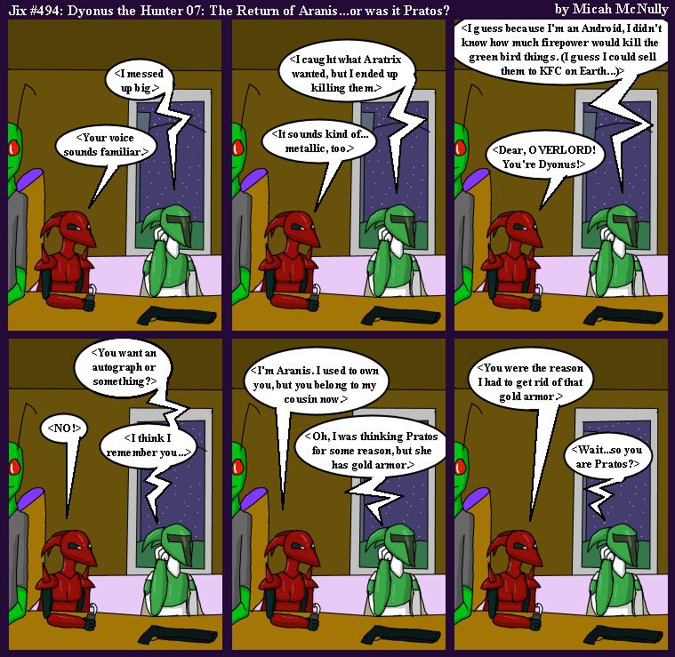 494. Dyonus the Hunter 07: The Return of Aranis...or was it Pratos?