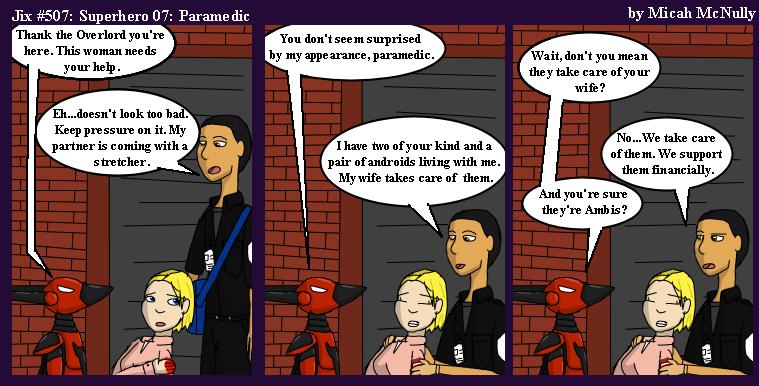 507. Superhero 07: Paramedic