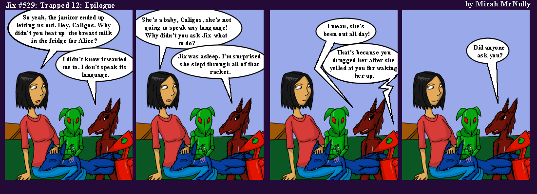 529. Trapped 12: Epilogue
