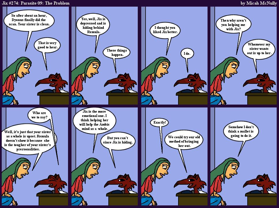274. Parasite 09: The Problem