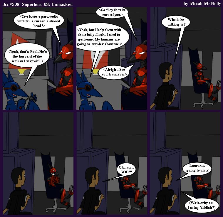 508. Superhero 08: Unmasked