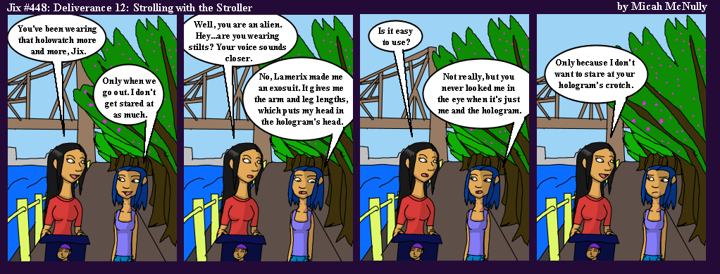 448. Deliverance 12: Strolling with a Stroller