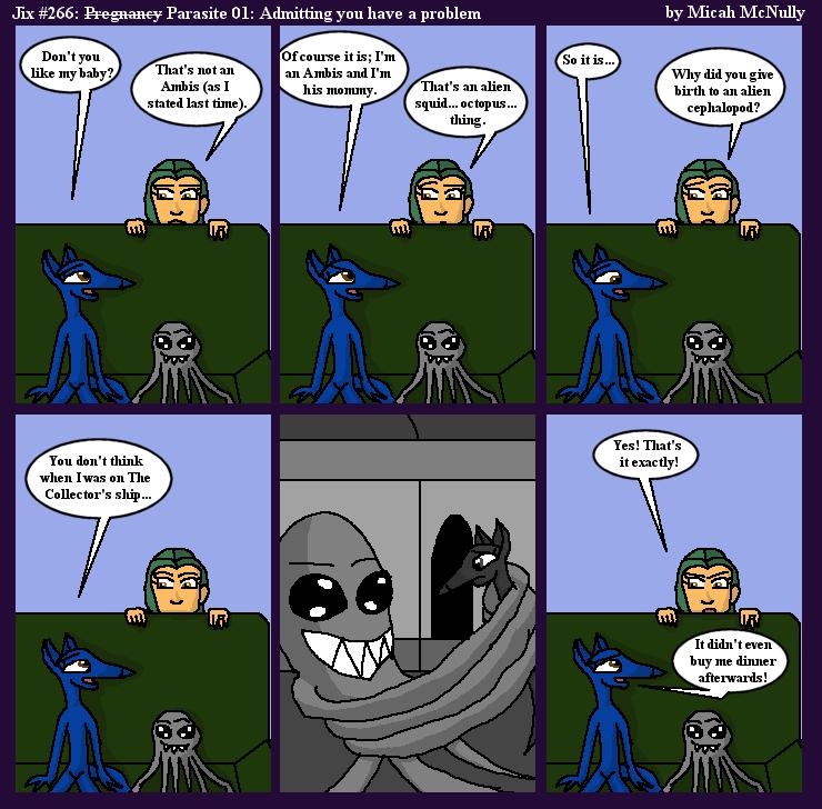 266. Parasite 01: Admitting you have a problem