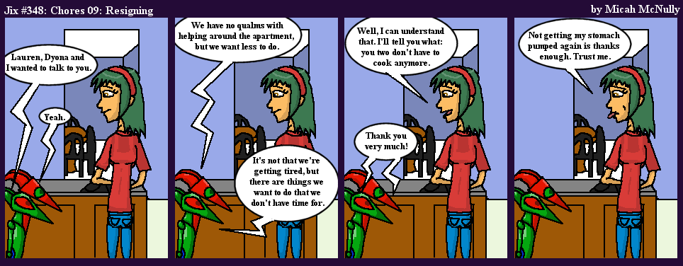 348) Chores 09: Resigning