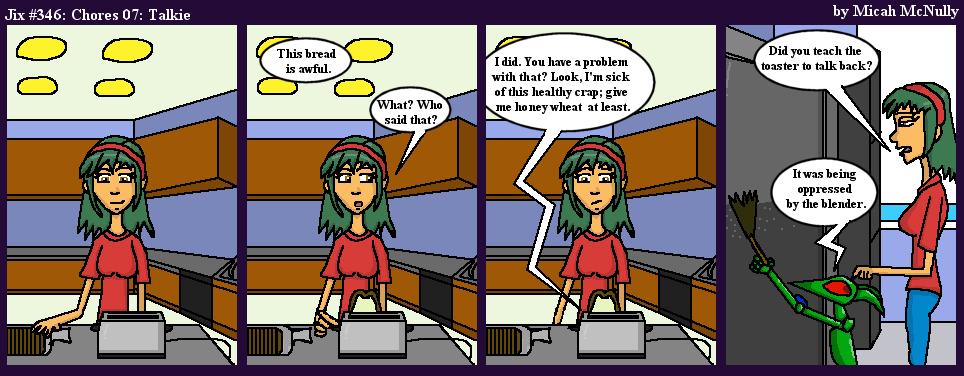 346. Chores 07: Talkie