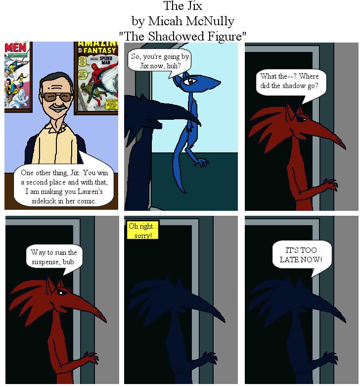 35. The Shadowed Figure