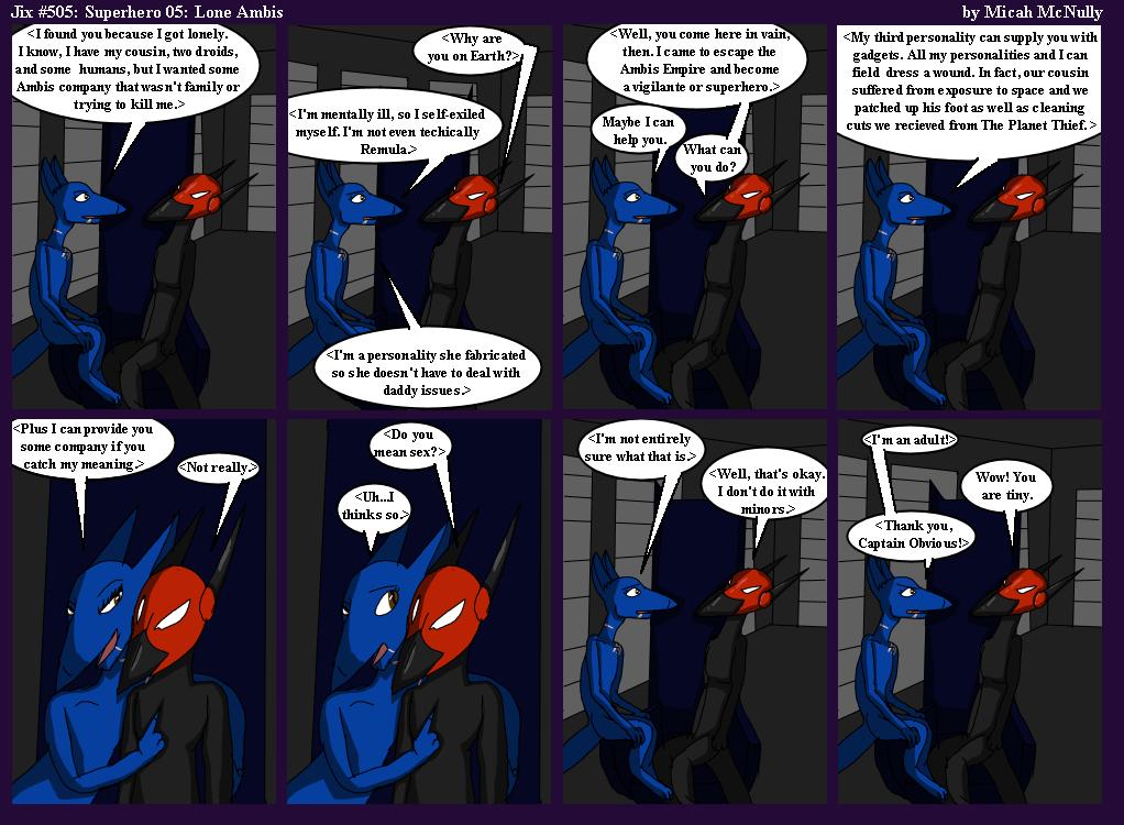505. Superhero 05: Lone Ambis