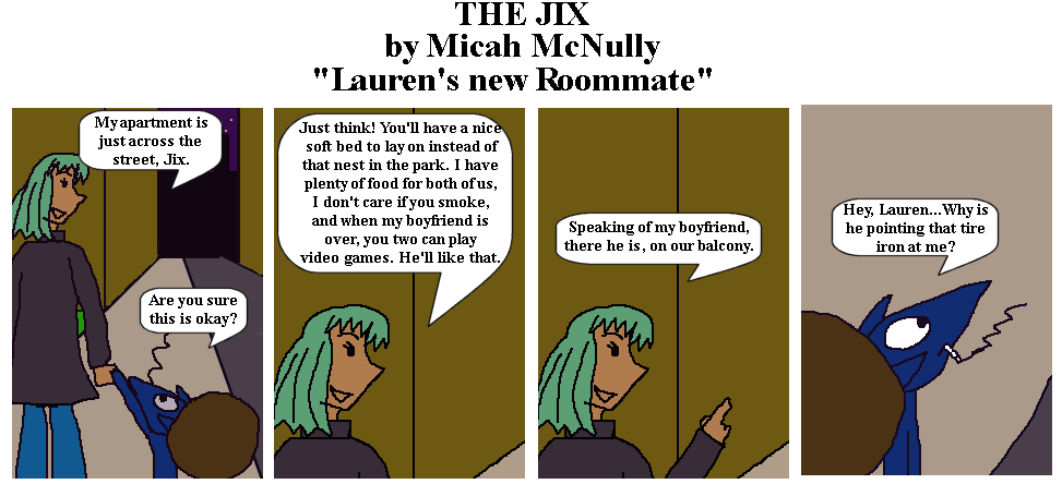 5. Lauren's New Roommate