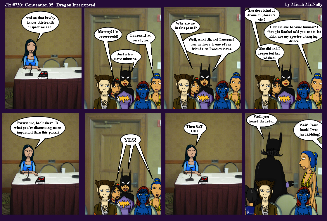 630. Convention 05: Dragon Interrupted