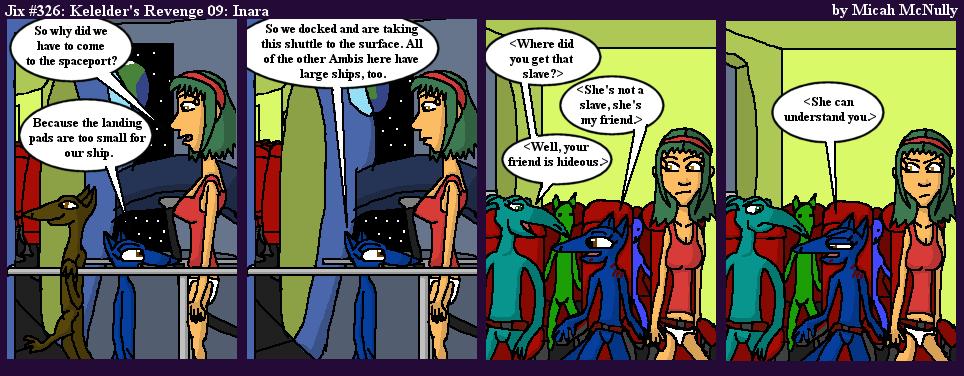 326. Kelelder's Revenge 09: Inara