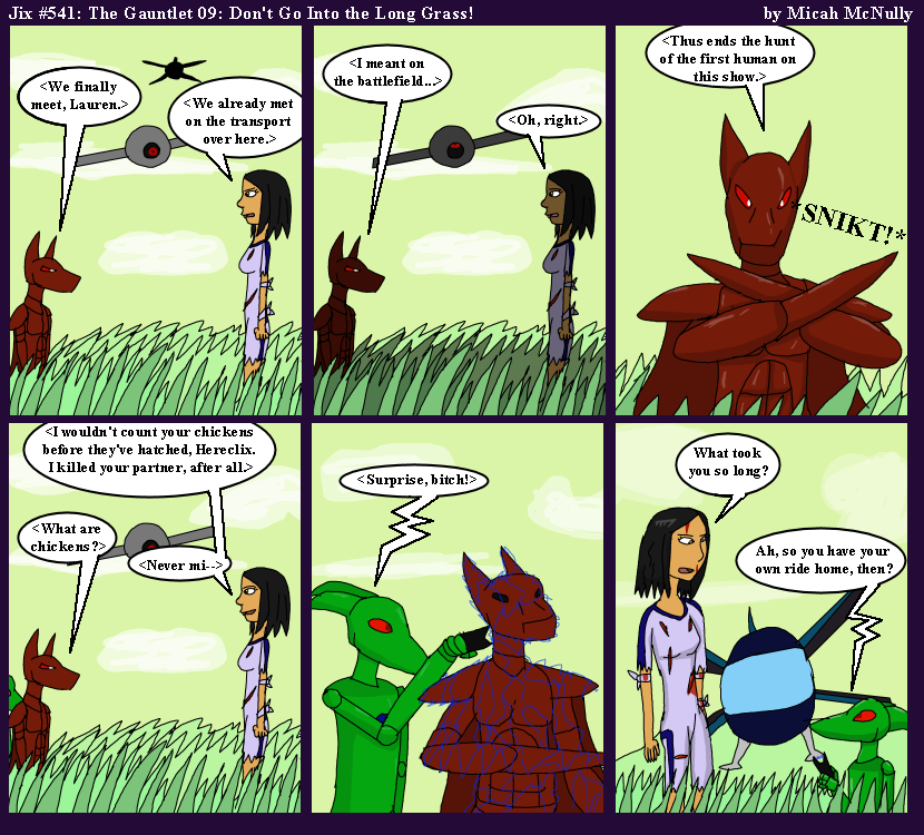 541. The Gauntlet 09: Don't Go Into the Long Grass