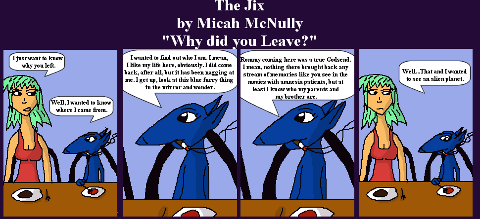 47. Why Did You Leave?