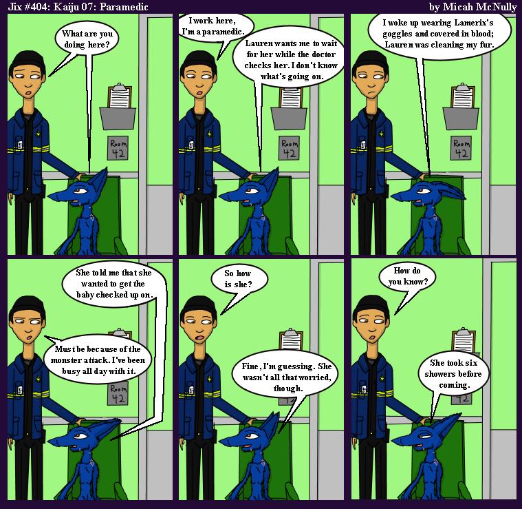 404. Kaiju 07: Paramedic