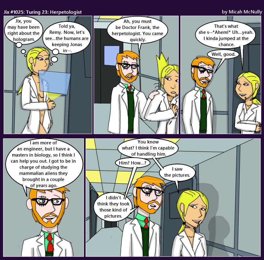1025. Turing 23: Herpetologist