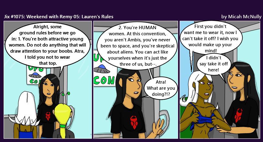 1075. Weekend with Remy 05: Lauren's Rules