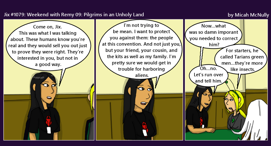 1079. Weekend with Remy 09: Pilgrims in an Unholy Land