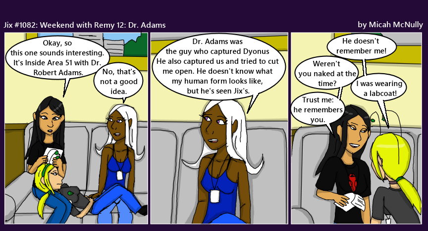 1082. Weekend with Remy 12: Dr. Adams