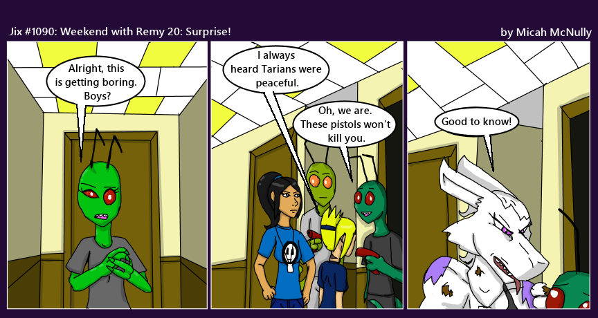 1090. Weekend with Remy 20: Surprise!