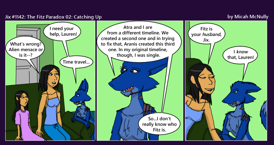 1142. The Fitz Paradox 02: Catching Up