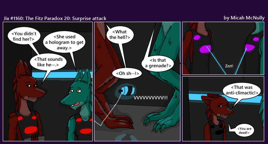 1160. The Fitz Paradox 20: Surprise Attack