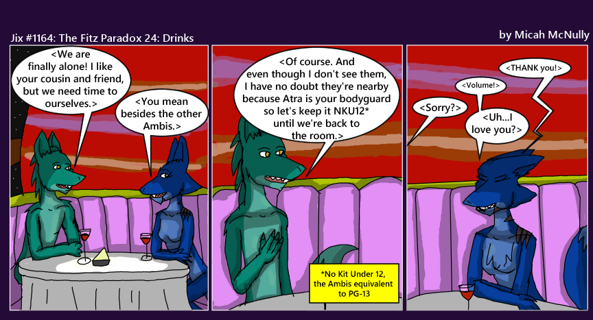 1164. The Fitz Paradox 24: Drinks