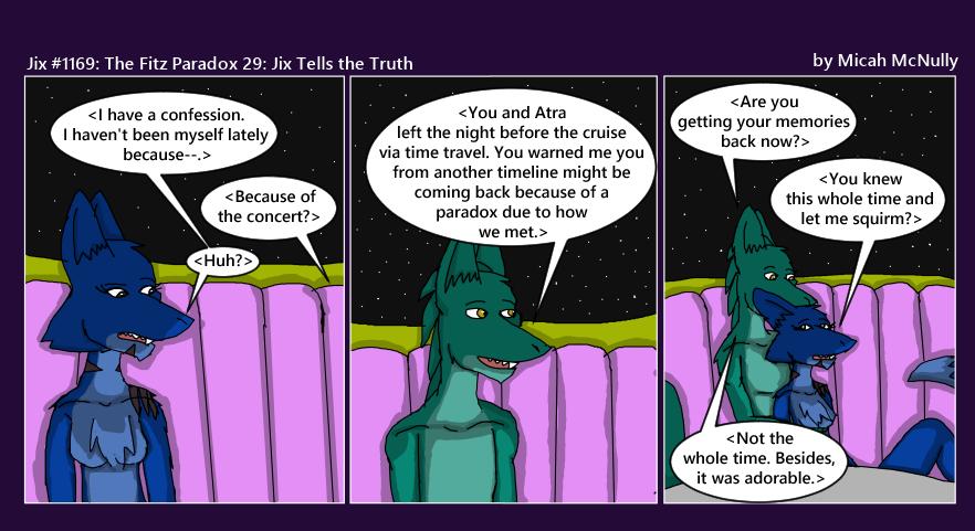 1169. The Fitz Paradox 29: Jix Tells The Truth