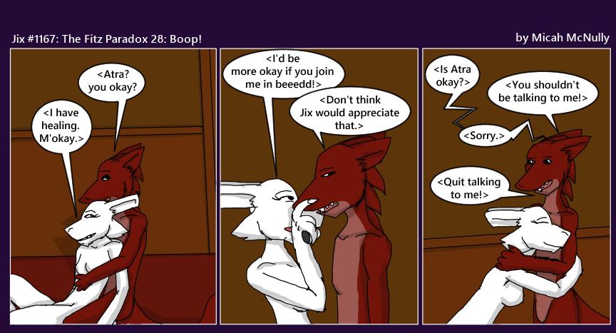 1167. The Fitz Paradox 27: Boop!