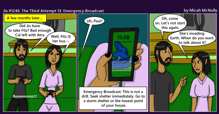 1246. The Third Attempt 13: Emergency Broadcast