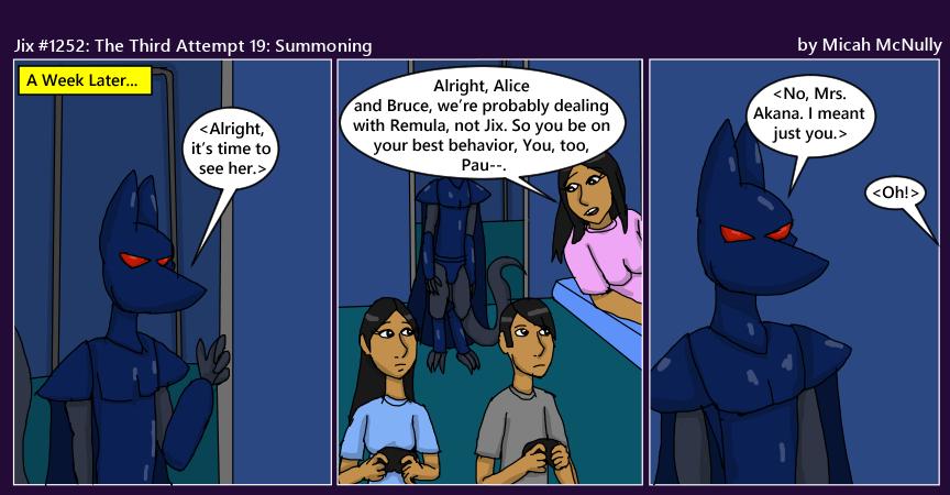 1252. The Third Attempt 19: Summoning