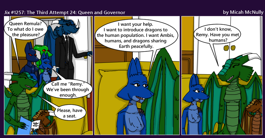 1257. The Third Attempt 24: Queen and Governor