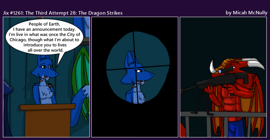 1261. The Third Attempt 28: The Dragon Strikes