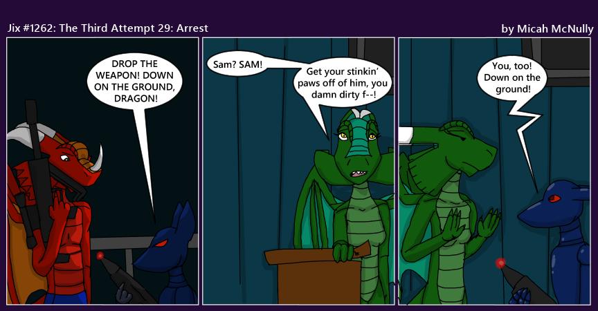 1262. The Third Attempt 29: Arrest