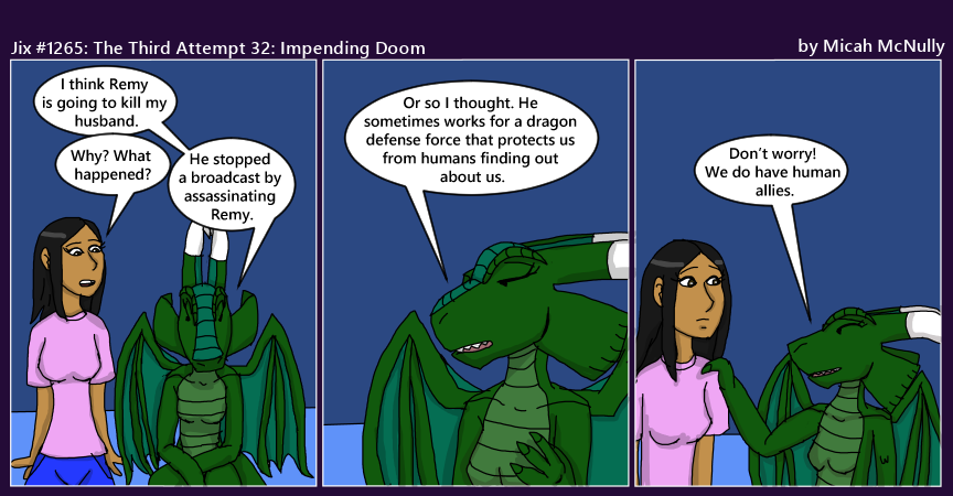 1265. The Third Attempt 32: Impending Doom