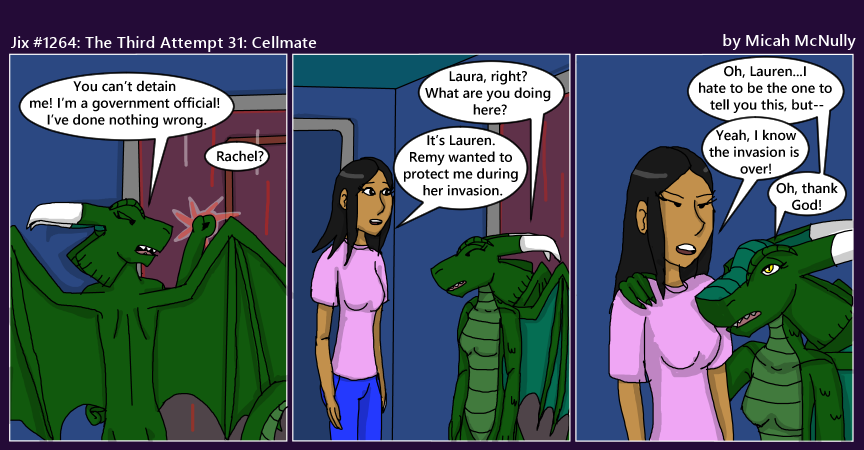 1264. The Third Attempt 31: Cellmate