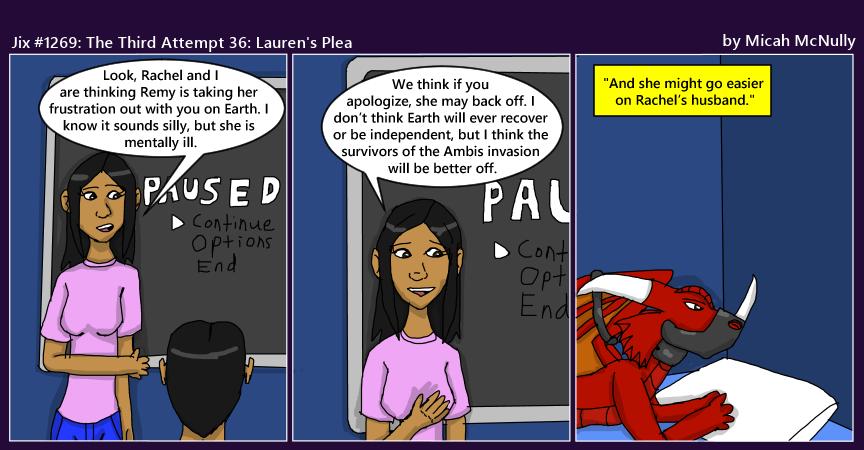 1269. The Third Attempt 36: Lauren's Plea