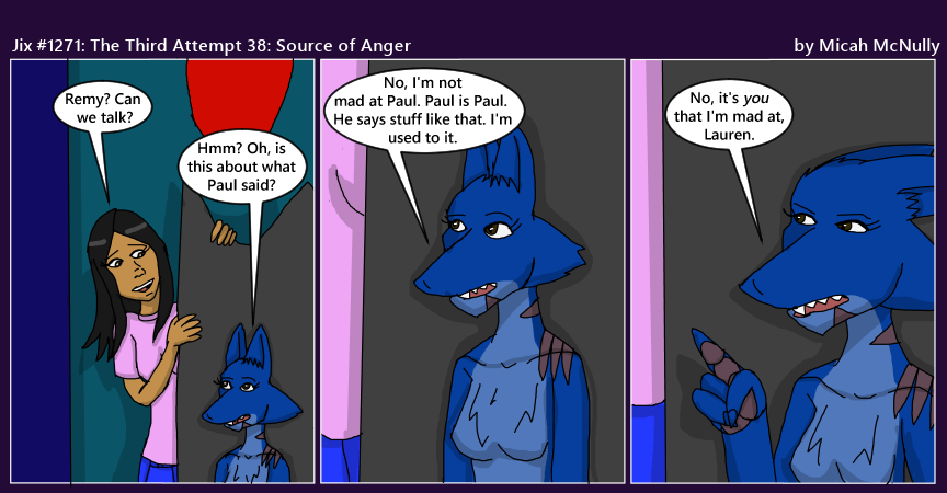 1271. The Third Attempt 38: Source of Anger