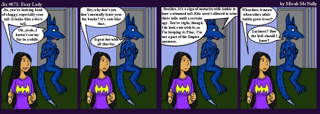 671. Foxy Lady