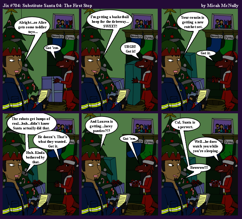 704. Substitute Santa 04: The First Stop
