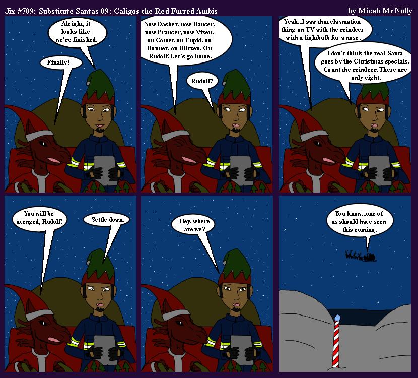 709. Substitute Santas 09: Caligos the Red Furred Ambis