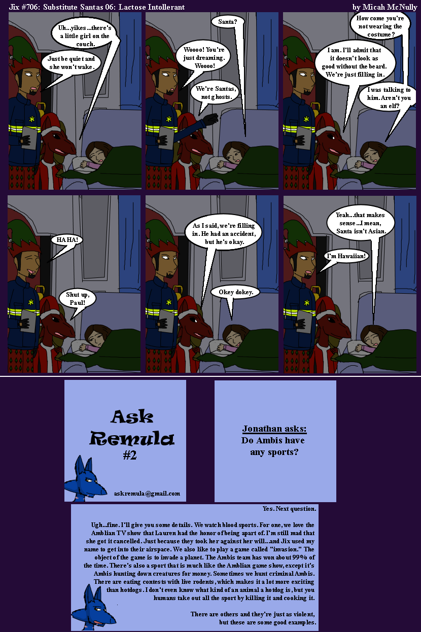 706. Substitute Santas 06: Lactose Intolerant (With Ask Remula 02)