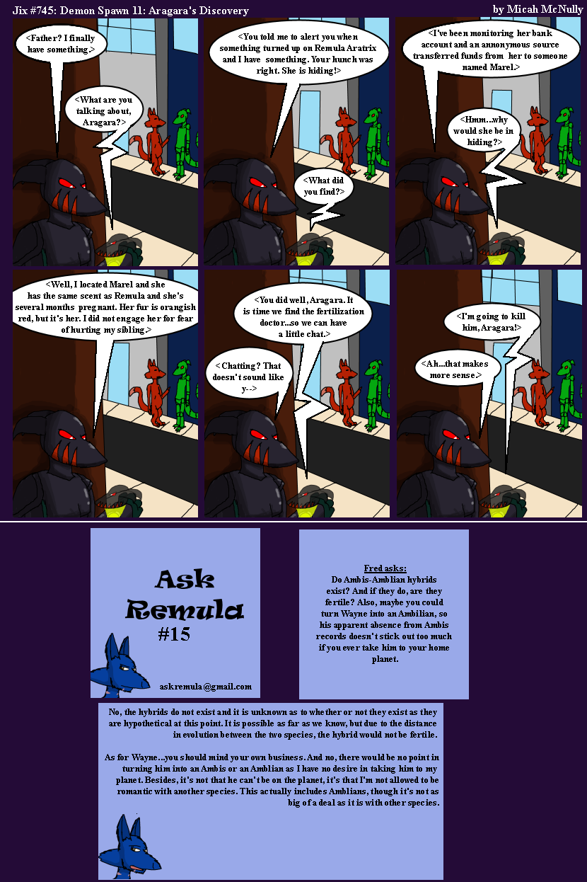 745. Demon Spawn 11: Aragara's Discover (With Ask Remula 15)