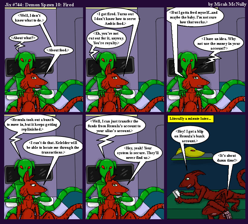 744. Demon Spawn 10: Fired
