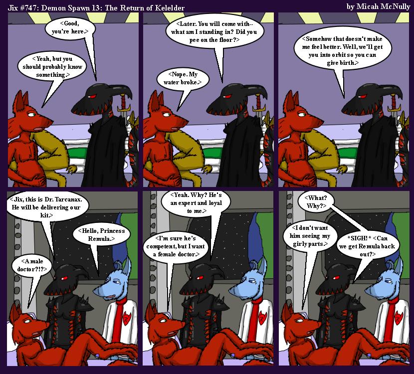 747. Demon Spawn 13: The Return of Kelelder