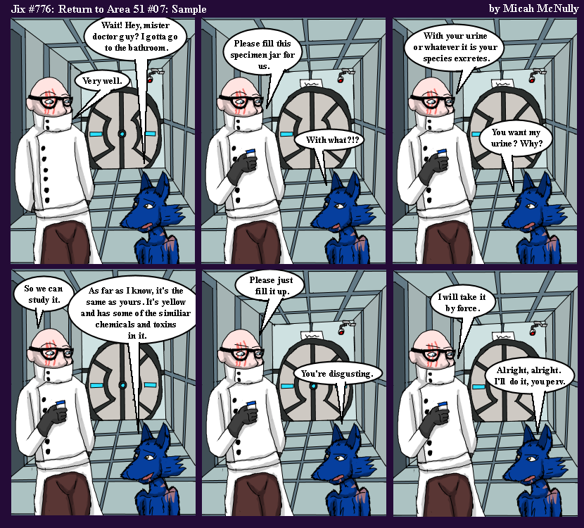 776. Return to Area 51 #07: Sample