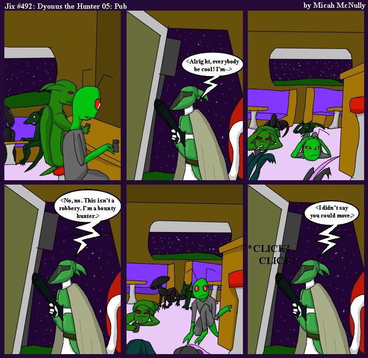 492. Dyonus the Hunter 05: Pub