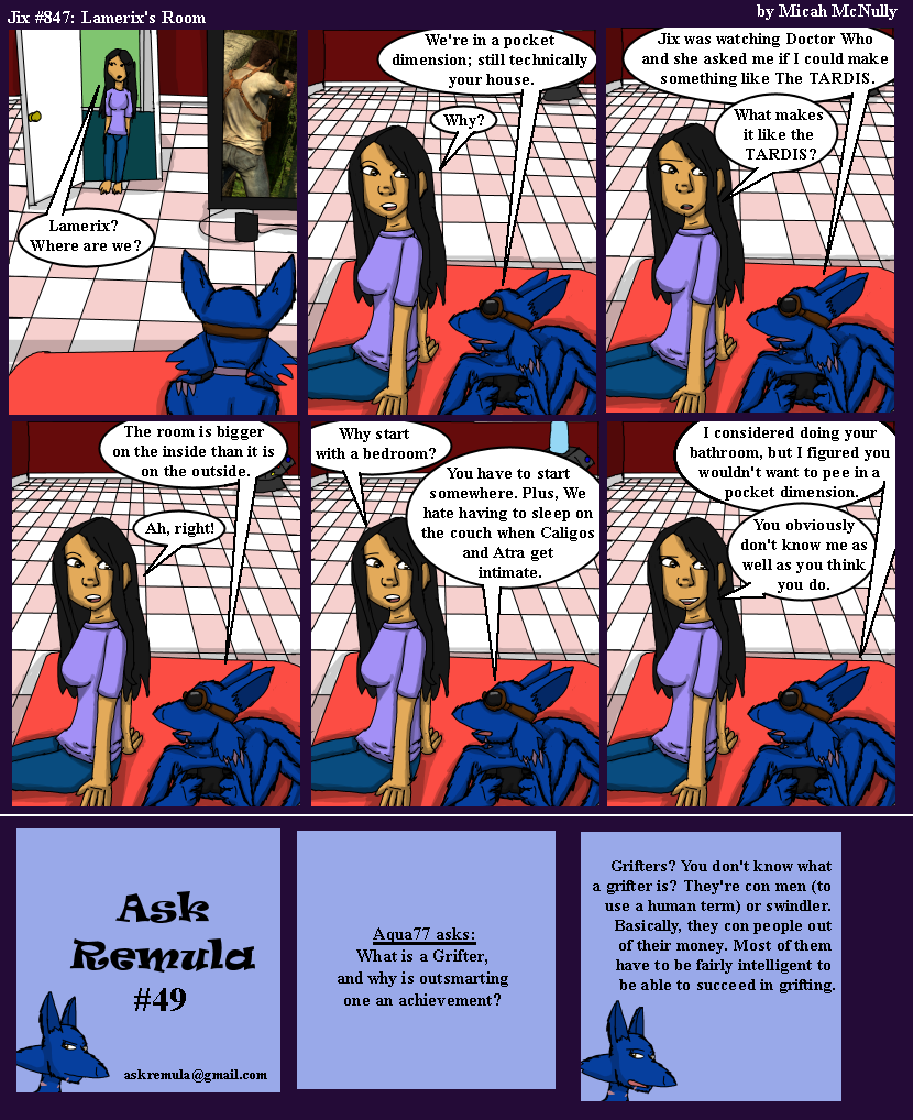 847. Lamerix's Room (With Ask Remula #49)