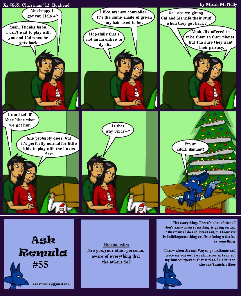 865. Christmas '12: Boxhead (With Ask Remula 55)