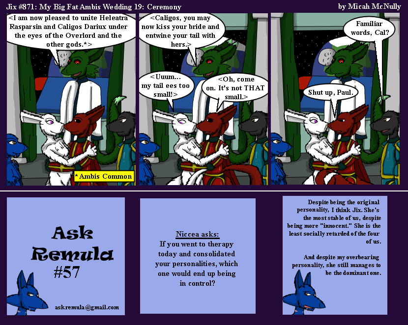 871. My Big Fat Ambis Wedding 19: Ceremony (With Ask Remula 57)