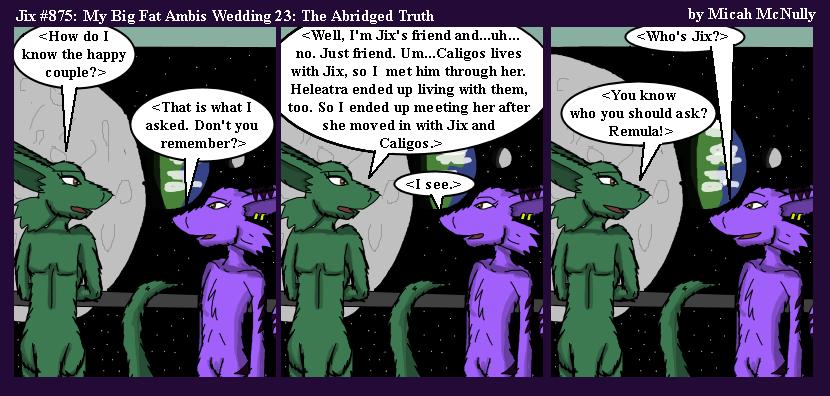 875. My Big Fat Ambis Wedding 23: The Abridged Truth